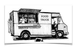 おしゃれなフードトラック / キッチンカー製作